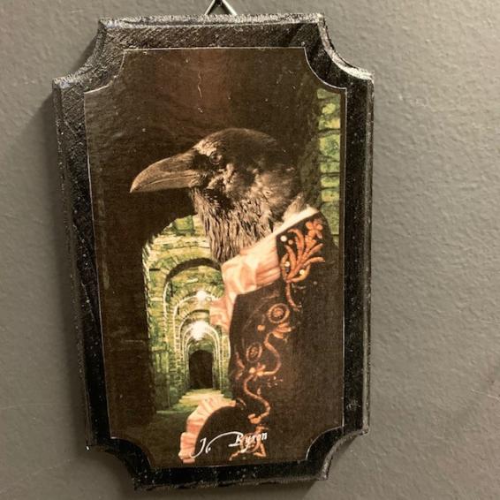 Anthropomorphic Medallion by John Byron - The watcher