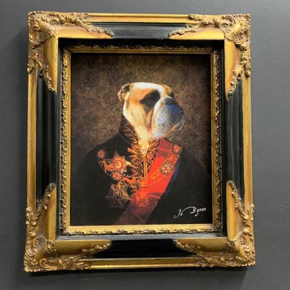 Anthropomorphic frame: Bulldog Officer