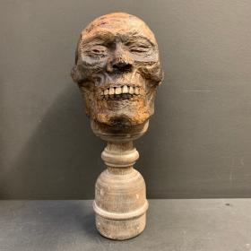 Tête de momie - Crâne: Réplique d'artiste par Jérôme Cavailles