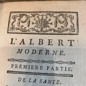 L'Albert Moderne ou nouveaux secrets éprouvés et licites - Livre grimoire de1768