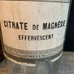 Pharmacy jar: Effervescent Magnesia Citrate