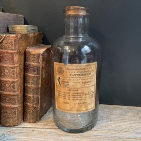 Bocal de Pharmacie: Pilules galéniques - Laboratoires Vernin