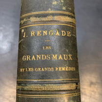 The great evils and the great remedies (J.Rengade) - Book of 1879