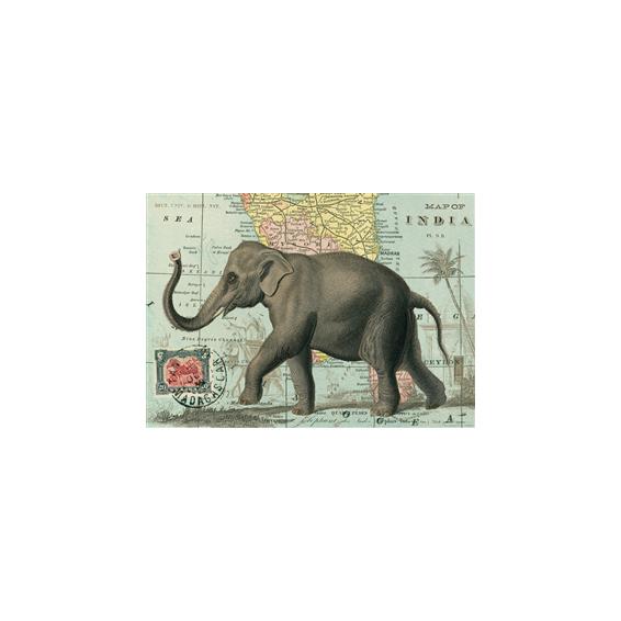 Affiche Plan ancien de Paris