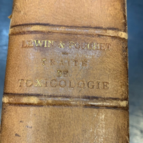 Treatise on Toxicology by Lewin and Pouchet - 1903