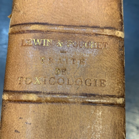 Treaty on Forensic Pathology and Toxicology - Dr FABRE - 1851