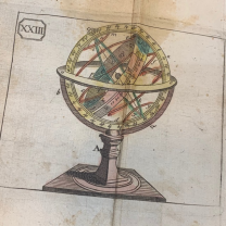 """Atlas des enfans"" - children's atlas - Old book of 1790"