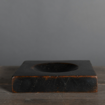 Wooden base for ball or sphere - Base - support