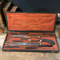 Amputation set - Manufacturer LÜER - Paris XIXth century