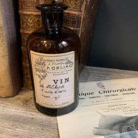 Pharmacy bottle - Colchic wine