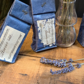Antique herbalist's bags - Etablissements Jourdan - Lyon