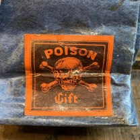 Antique herbalist's bags - Poison - Etablissements Jourdan - Lyon