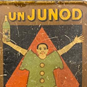 Boîte ancienne pour cartes de visite - Anis JUNOD