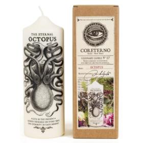 Bougie - Cierge Coreterno - Octopus - Pieuvre