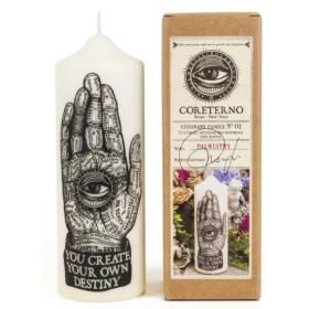 Bougie - Cierge Coreterno - Palmistry - La Main de chiromancie