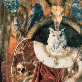 Anthropomorphic Block by John Byron - Walkyrie - Owl