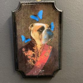 Anthropomorphic Medallion by John Byron - Spring Bulldog