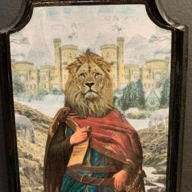 Anthropomorphic Medallion by John Byron - Avalon - Lion