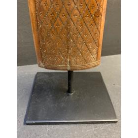 Engraved swordfish rostrum