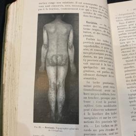 Précis de Dermatologie (Medical brief of Dermatology) By Dr DARIER - Published in 1918