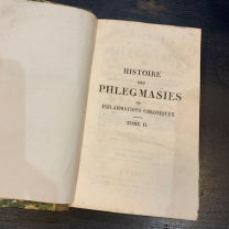 History of Phlegmas or Chronic Inflammations By Dr Broussais - Volume 2 - 1822