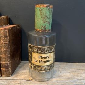 Flowers of Louse - Pharmacy bottle 19th century