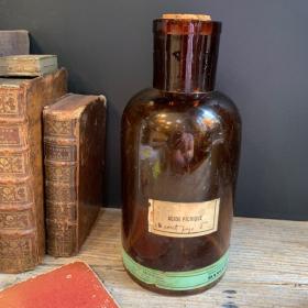Acide picrique - Flacon d'apothicaire - Bocal de pharmacie - Dangereux