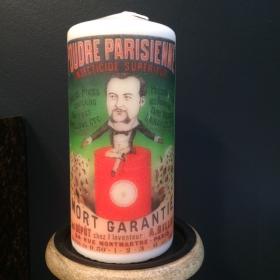 Candle Parisian powder
