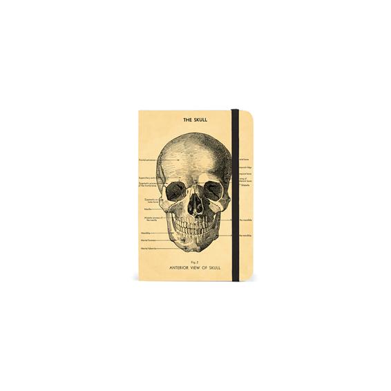 Notebook élastique Le Crâne