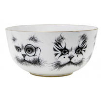 Bewitching dipper bowl Rory Dobner - Cat Monocle & Clown Cat