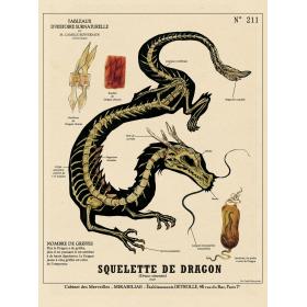 Affiche Créatures Fantastiques et Chimères par Camille Renversade