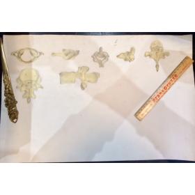 Etude Anatomique au fusain - Vertèbres - 1918