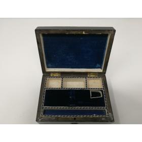 Coffret à couture - Vernis au tampon - Napoléon III