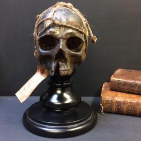 Crâne humain. Réplique artiste Jérôme Cavailles Skull 1