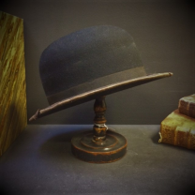 Old bowler hat