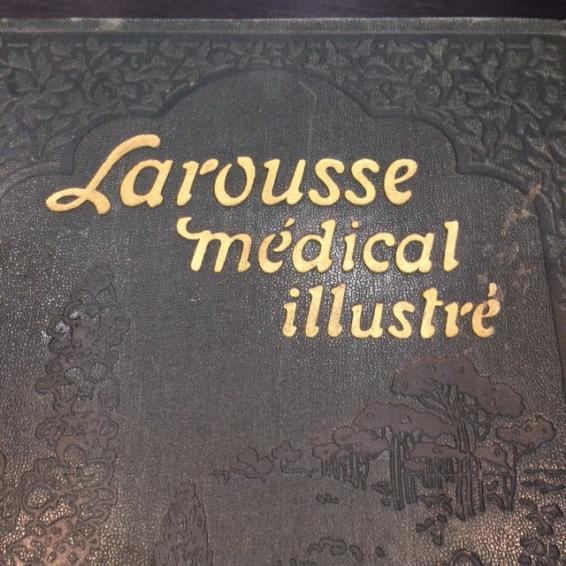 LAROUSSE MEDICAL ILLUSTRE 1924