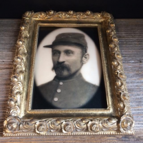 Haunted frame: Uncle Silas (rectangular)