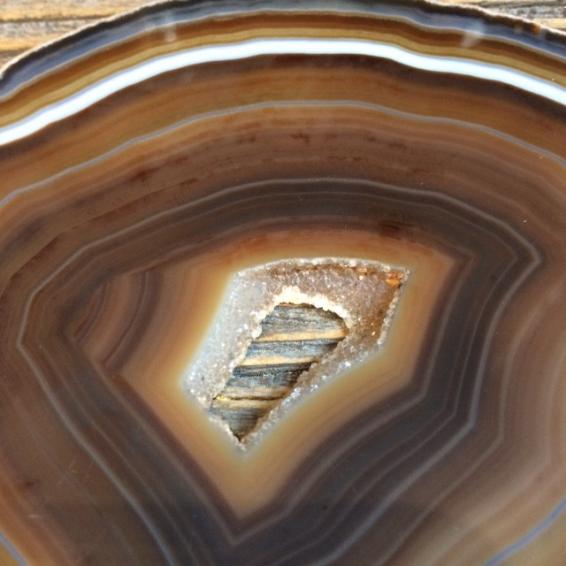 Agate Slice. Size M