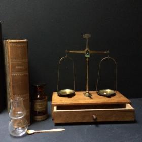 Balance d'Apothicaire du XIXème