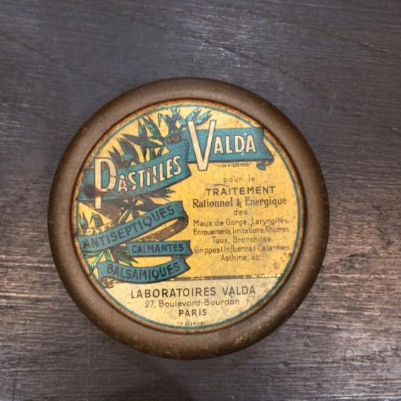 Boîte de pastilles VALDA
