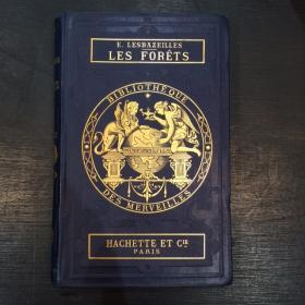 """XIXth old book: """" Les Forêts """" 1884"""