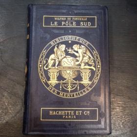 """Livre ancien XIXème: """"Le Pôle Sud"""" 1889"""