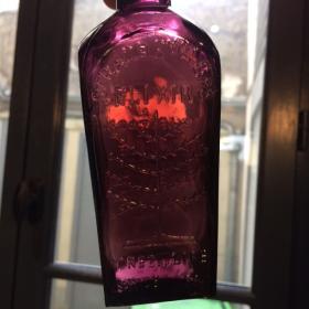 Flacon Elixir de vie - réédition années 70