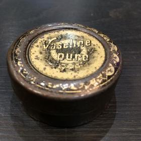 Old box of petrolatum / Petroleum jelly