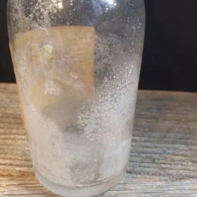 Old bottle of Eau de Cologne