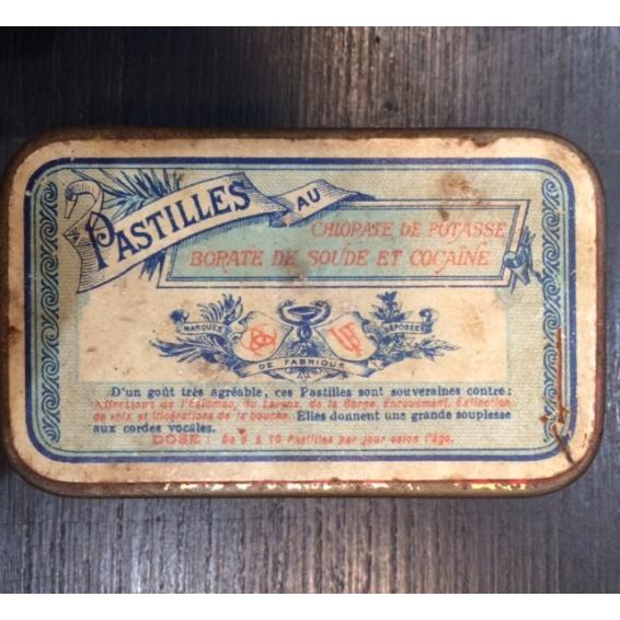 Boîte de pastilles Potasse-Cocaïne - Laboratoire GOY