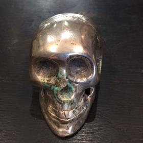 Mini crâne en métal