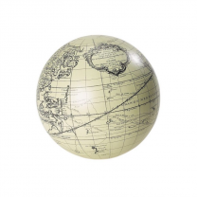 Vaugondy globe in white