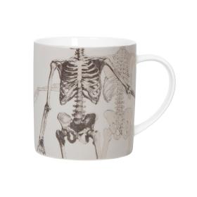 CURIOS - ceramic mug: Skeleton