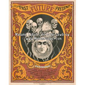 Affiches gothiques victoriennes Madame Talbot: Fortune Teller Great Alexander